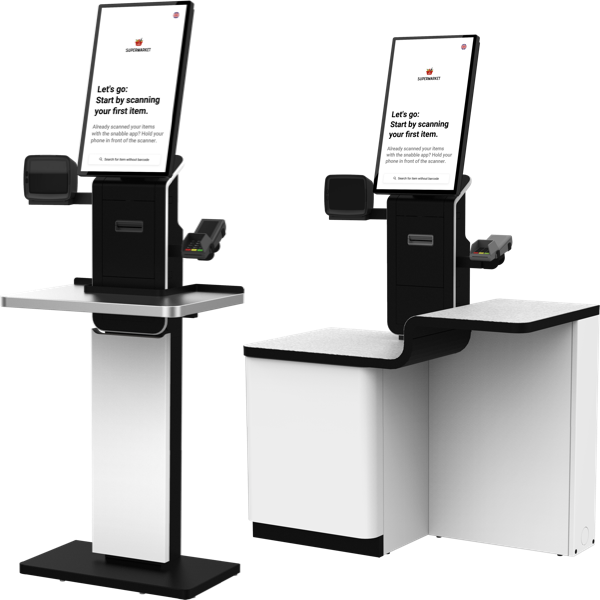 snabble Self-Checkout SCO Kiosk